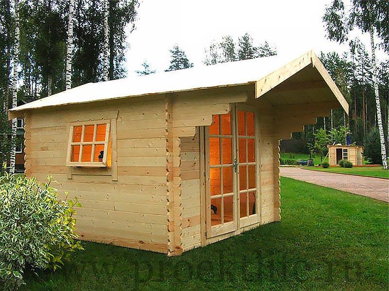 Садовые деревянные домики из бруса под ключ - Садовые деревянные домики из бруса под ключ: комфорт по доступной цене - 2 3