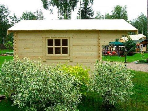 """- Готовый садовый домик из мини-бруса """"Лилу"""" - 4 4 480x360"""