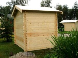Садовые деревянные домики из бруса под ключ - Садовые деревянные домики из бруса под ключ: комфорт по доступной цене - 4 7 300x225