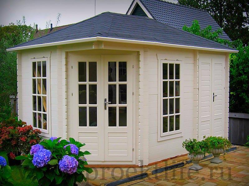 Садовые деревянные домики из бруса под ключ - Садовые деревянные домики из бруса под ключ: комфорт по доступной цене - 5 1