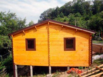 """Дачный деревянный дом """"Рикардос"""""""