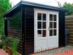 Садовые деревянные домики из бруса под ключ - Садовые деревянные домики из бруса под ключ: комфорт по доступной цене - 7 1 300x225