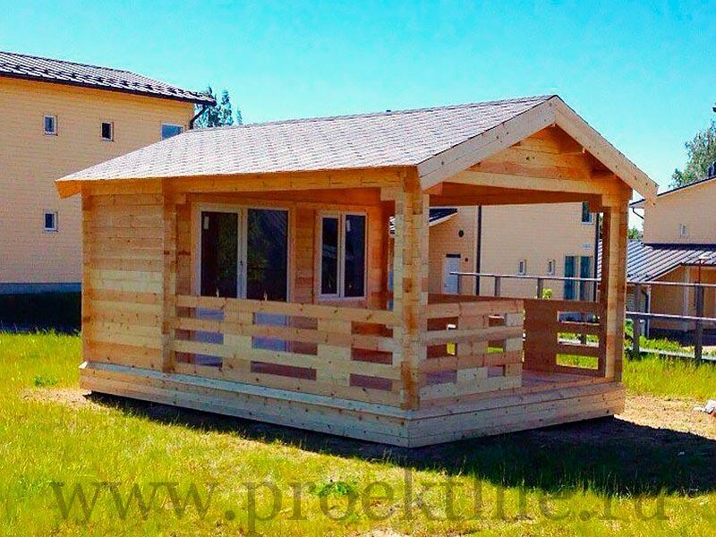 Садовые деревянные домики из бруса под ключ - Садовые деревянные домики из бруса под ключ: комфорт по доступной цене - 8 1