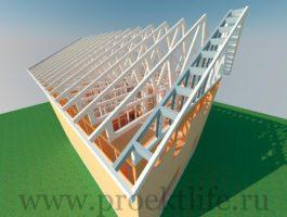 Каркасный дом - технология строительства