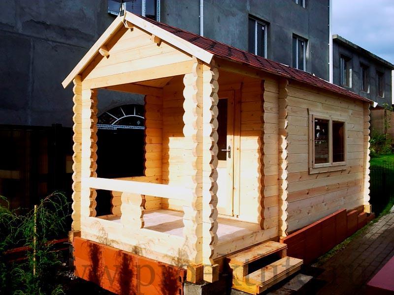Садовые деревянные домики из бруса под ключ - Садовые деревянные домики из бруса под ключ: комфорт по доступной цене - dom miller