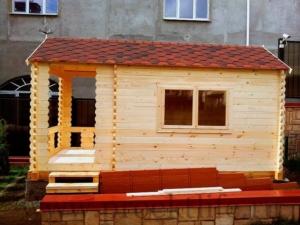 Садовые деревянные домики из бруса под ключ - Садовые деревянные домики из бруса под ключ: комфорт по доступной цене - domik miller 300x225