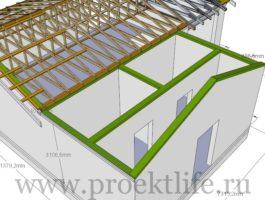крыша - Как сделать крышу на пристройке к дому - 1 10 265x200
