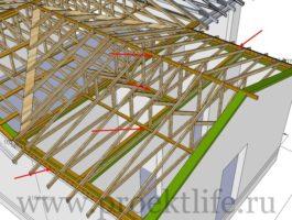 крыша - Как сделать крышу на пристройке к дому - 4 8 265x200
