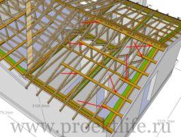 крыша - Как сделать крышу на пристройке к дому - 6 9 265x200