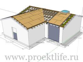 крыша - Как сделать крышу на пристройке к дому - 8 7 265x200