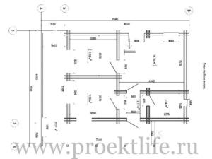 1 этаж 1 300x225 - Недорогие дома из двойного бруса по цене однокомнатной квартиры.