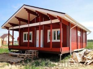 3 2 300x225 - Недорогие дома из двойного бруса по цене однокомнатной квартиры.