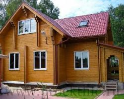 Строительство двойных домов по технологии двойной брус.