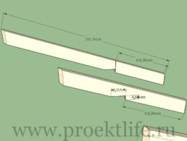 Угловой навес для дома   чертежи