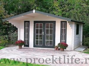 Садовые деревянные домики из бруса под ключ - Садовые деревянные домики из бруса под ключ: комфорт по доступной цене - 19 min 300x225