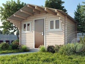 Садовые деревянные домики из бруса под ключ - Садовые деревянные домики из бруса под ключ: комфорт по доступной цене - kompact min 300x225