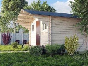 Садовые деревянные домики из бруса под ключ - Садовые деревянные домики из бруса под ключ: комфорт по доступной цене - photo3232 min 300x225