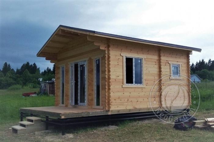 """- Дачный дом из бруса 45 мм """"Комфорт-8"""" - komfort 8 9 min 700x466"""