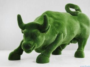 Садовая скульптура – Бык