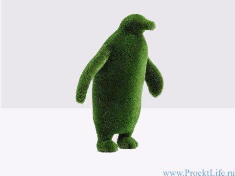 Топиарий - Пингвин