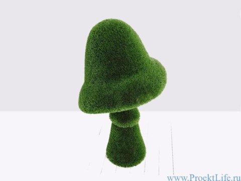 Садовая форма - Гриб