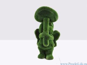 Садовая форма - Девочка с грибом