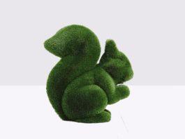 Топиари - Скульптура Белки