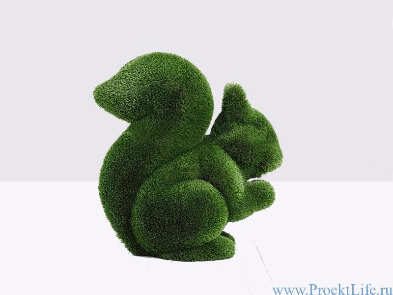 Садовая скульптура топиари Белки