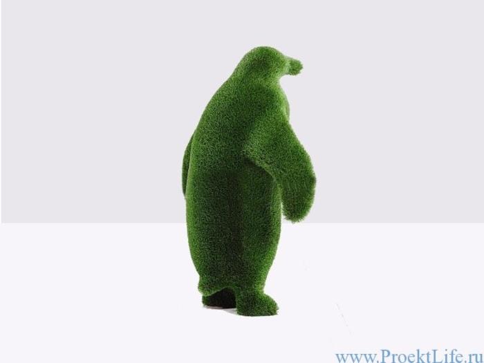 Садовая скульптура - Пингвин