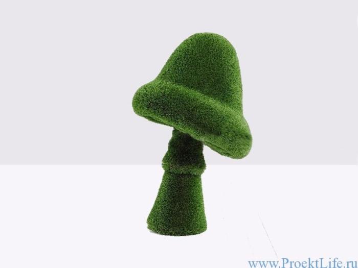 Садовая форма топиари – Гриб