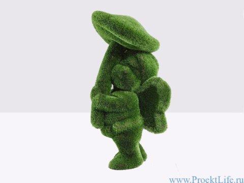 Садовая скульптура - Девочка с грибом