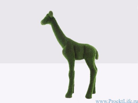 Садовая скульптура жираф маленький