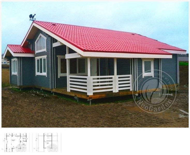 allegro 734x600 - Недорогие дома из двойного бруса по цене однокомнатной квартиры.