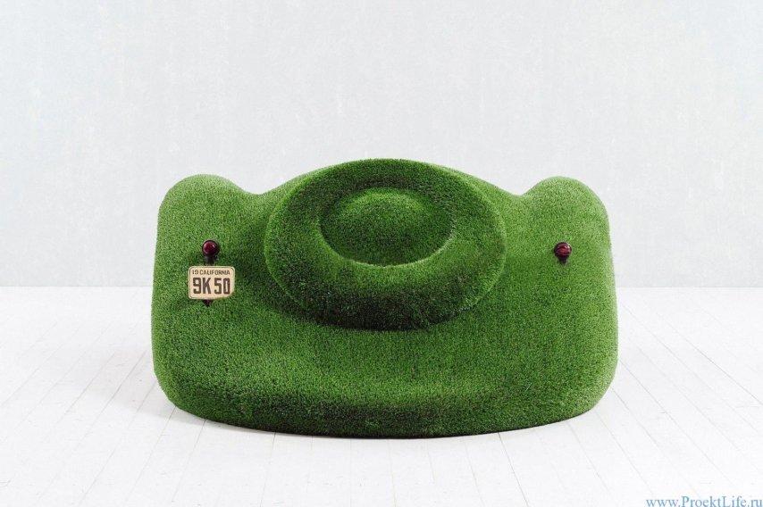 Садовые фигуры - машинка диван