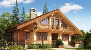 Недорогие дома из двойного бруса по цене однокомнатной квартиры.
