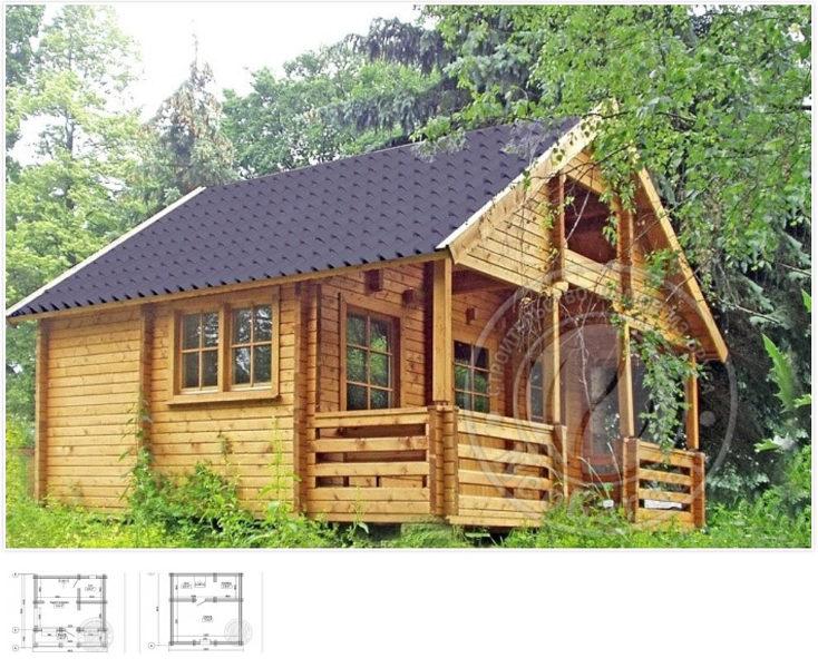 Недорогие дома из двойного бруса купить