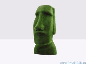Топиари - Статуя Истукана