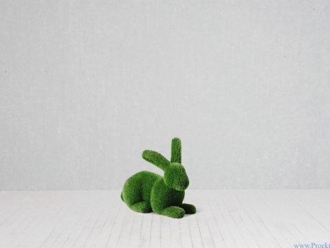 Садовая скульптура - Кролик