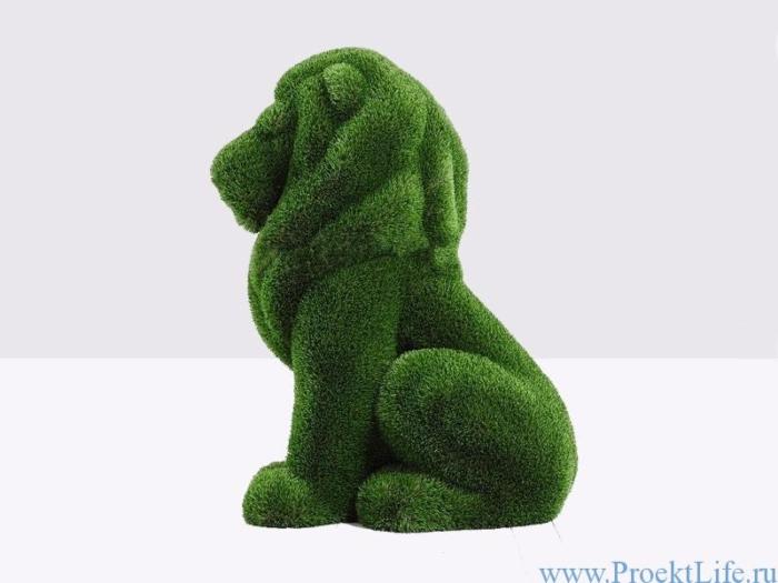 Садовая фигура - Львёнок