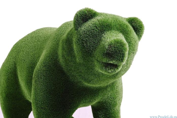 Садовая скульптура - Медвежонок