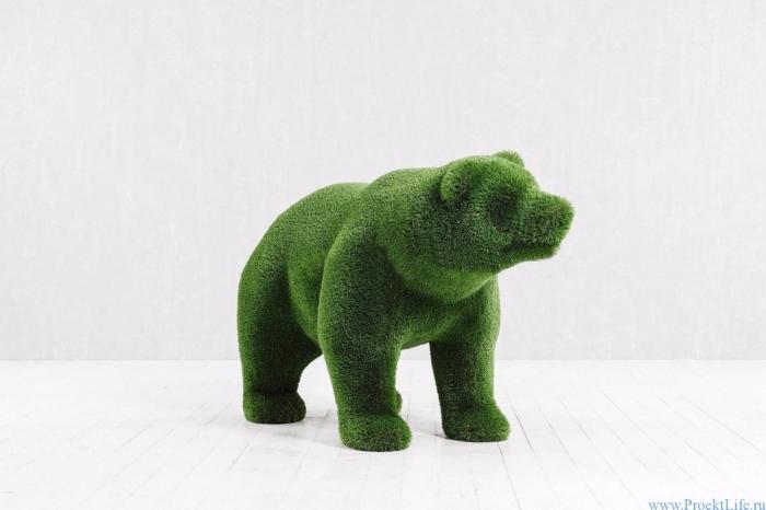 Топиари - Медвежонок