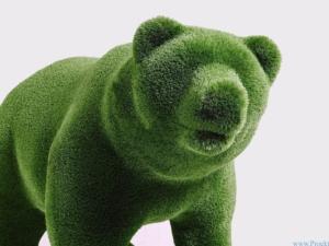 Садовая фигура - Медведь