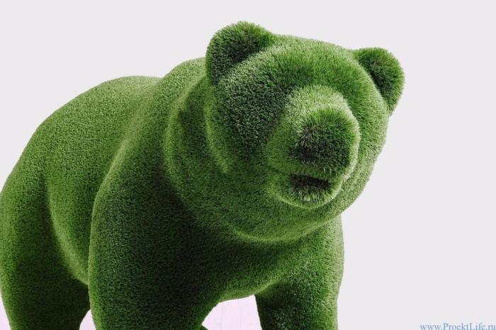 Садовая фигура – Медведь