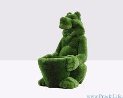 Топиари – Медведь с корзинкой
