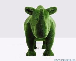 Топиари – Носорог