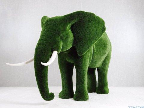 Топиарий-Слон большой