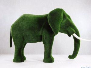 Садовая скульптура-Слон большой