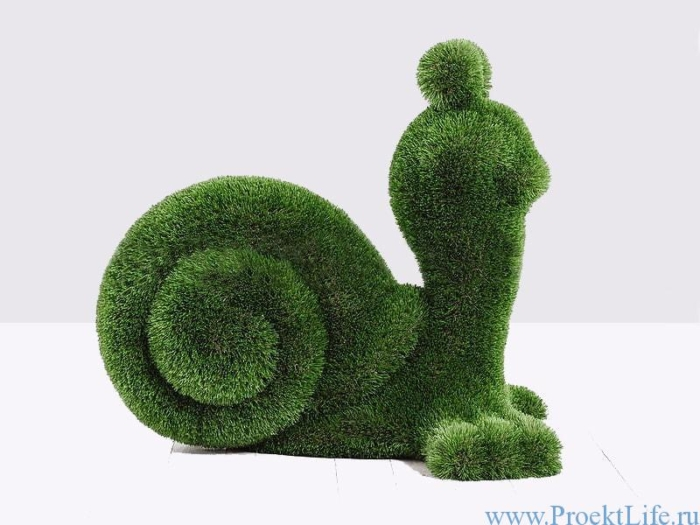 Садовая фигура - Улитка