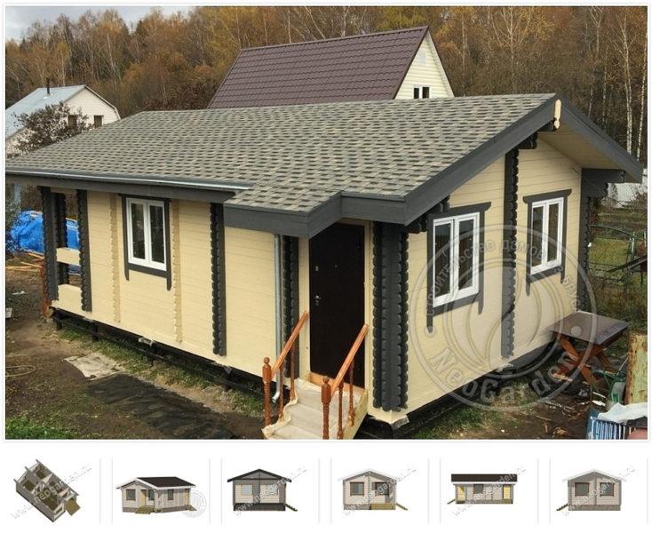 versal 734x600 - Недорогие дома из двойного бруса по цене однокомнатной квартиры.