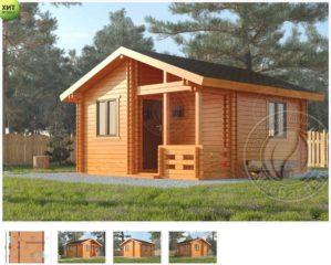 Дома из двойного бруса по низкой цене